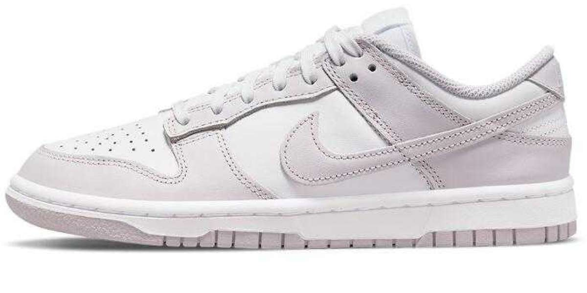 Nike Dunk Low New Releasing With Light Violet Color Scheme